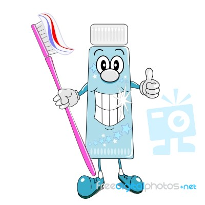 toothpaste-and-toothbrush-cartoon-10058182